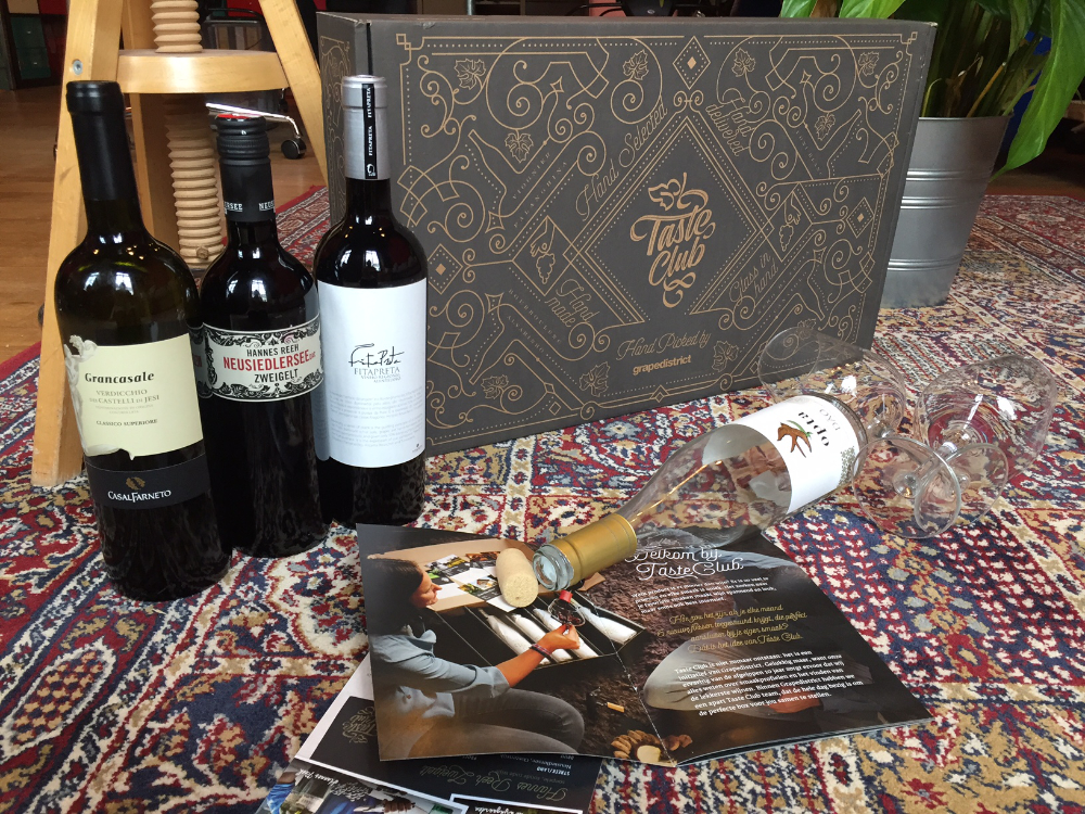 WINE REVIEW | DE TASTE CLUB WIJNBOX