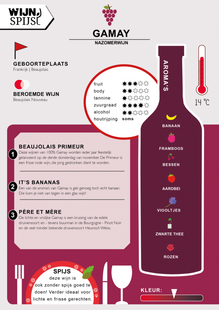 Gamay infographic
