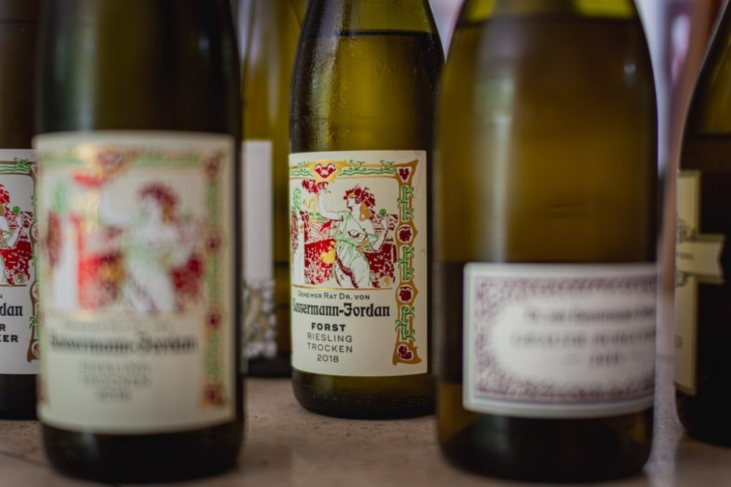 Duitse druivensoort Riesling [infographic]